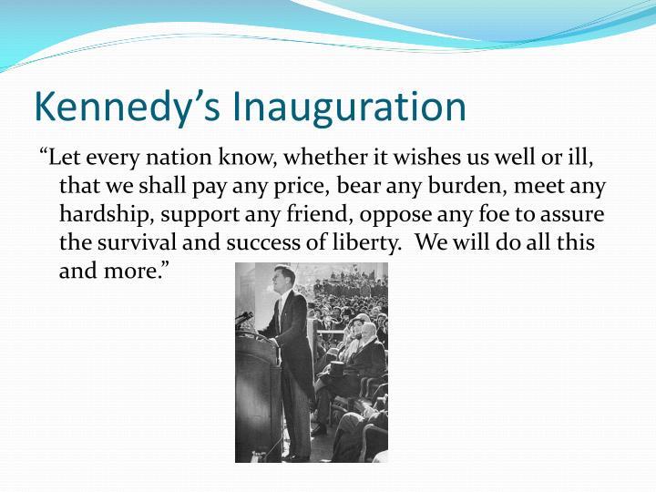 Kennedy's Inauguration