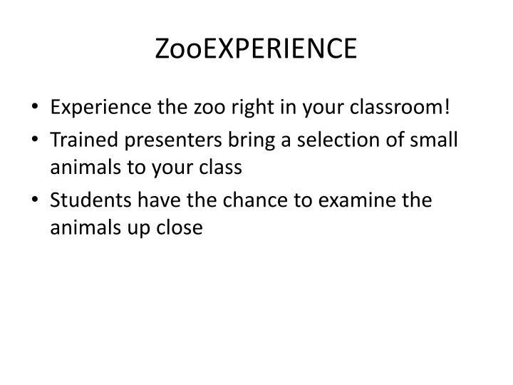 ZooEXPERIENCE