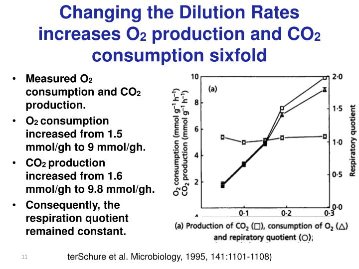 Changing the Dilution Rates increases O