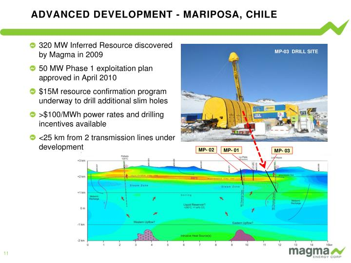 ADVANCED DEVELOPMENT - MARIPOSA, CHILE