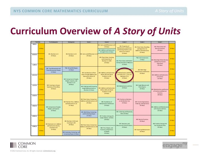 Curriculum Overview of