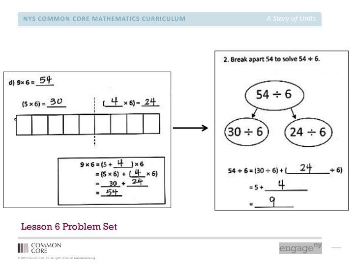 Lesson 6 Problem Set