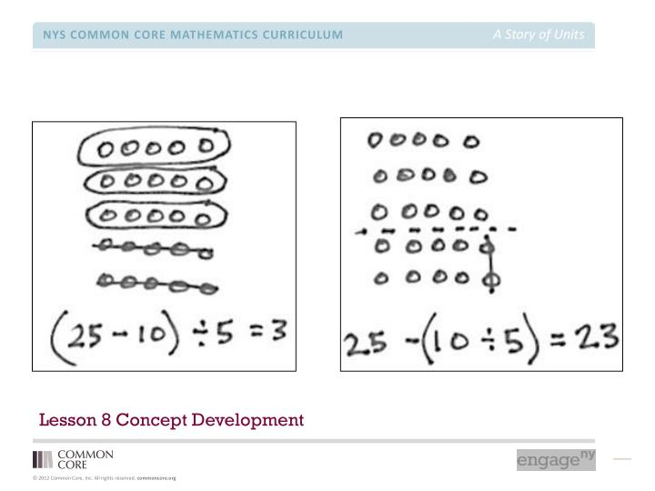Lesson 8 Concept Development