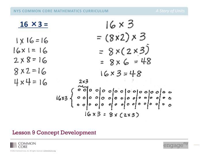 Lesson 9 Concept Development