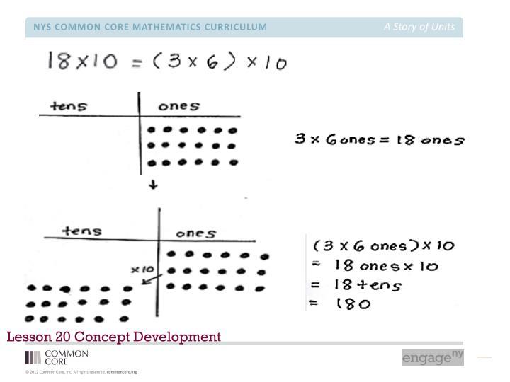 Lesson 20 Concept Development