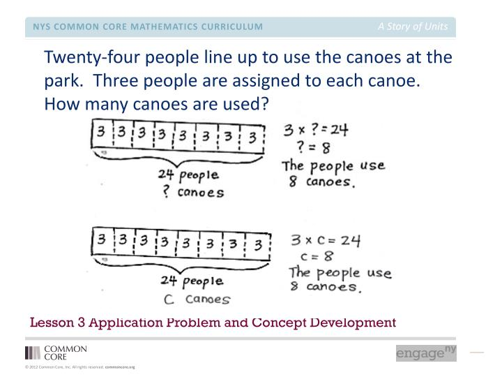 Lesson 3 Application Problem and Concept Development