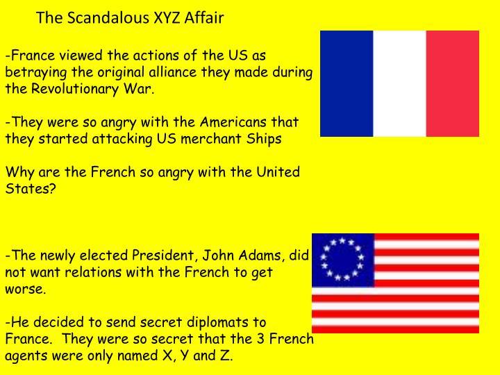 The Scandalous XYZ Affair