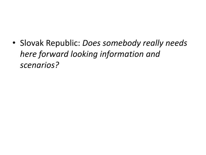 Slovak Republic:
