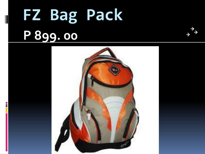 FZ Bag Pack