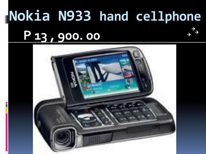 Nokia N933