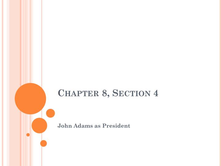 Chapter 8, Section 4