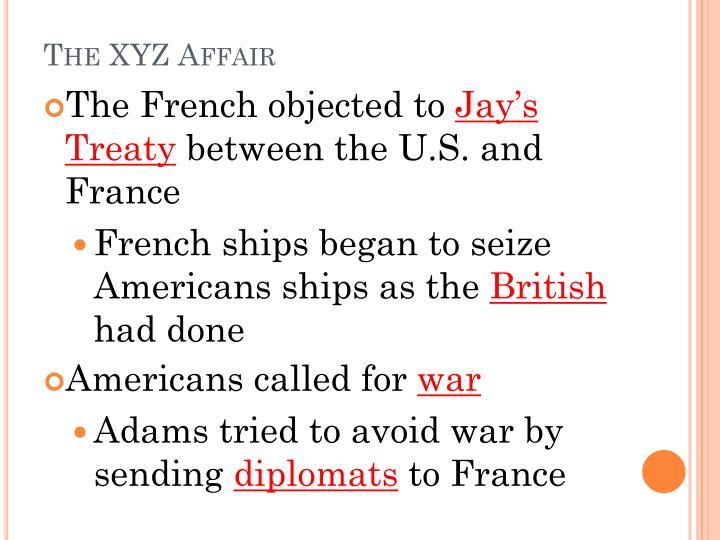The XYZ Affair