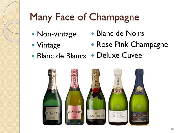 Many Face of Champagne