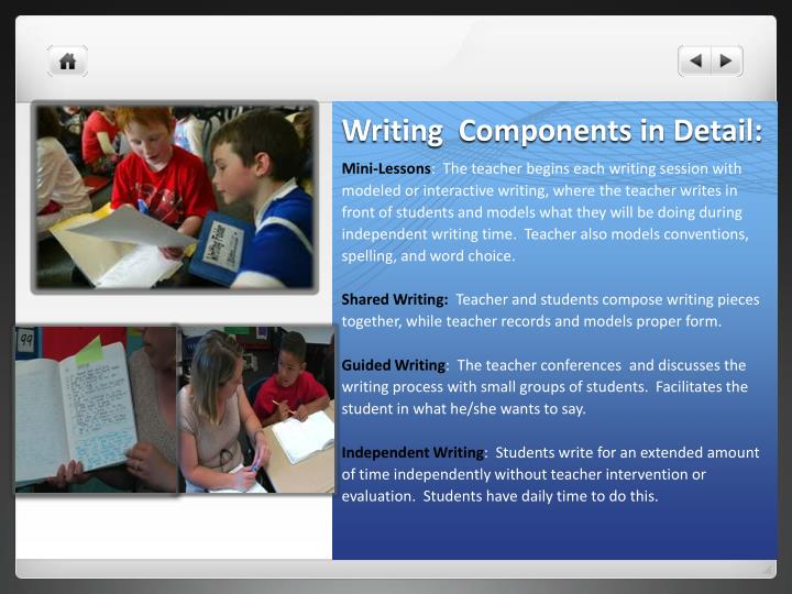 Writing  Components in Detail: