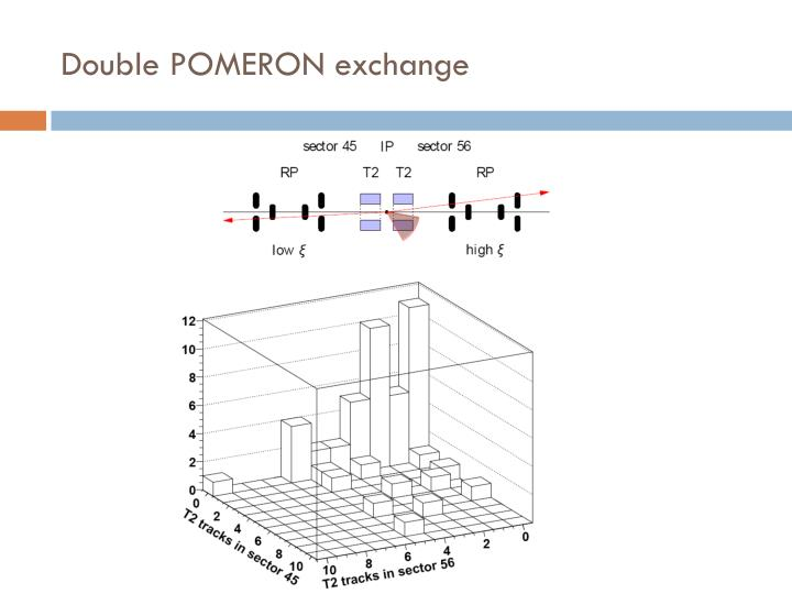 Double POMERON exchange