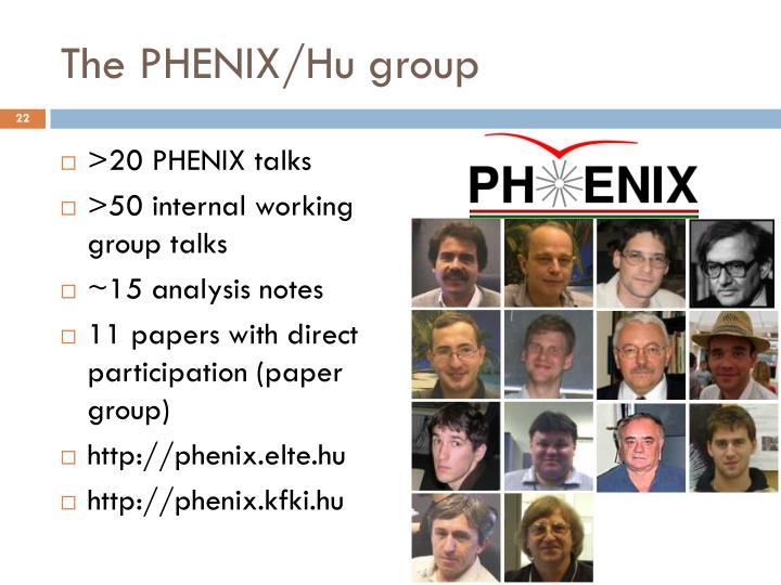 The PHENIX/Hu