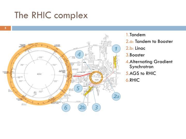 The RHIC complex