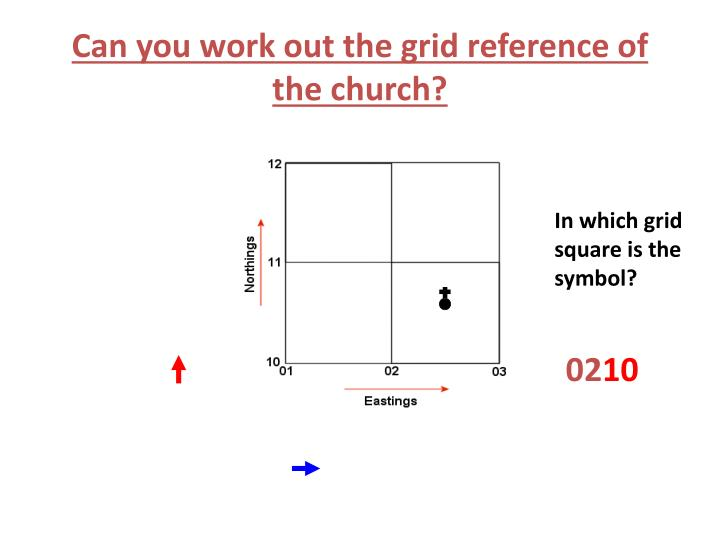 Can you work out the grid reference of the church?