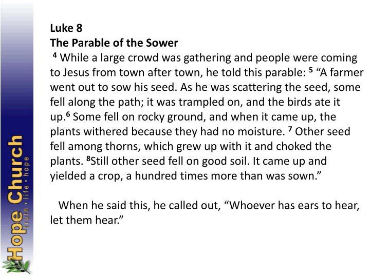 Luke 8