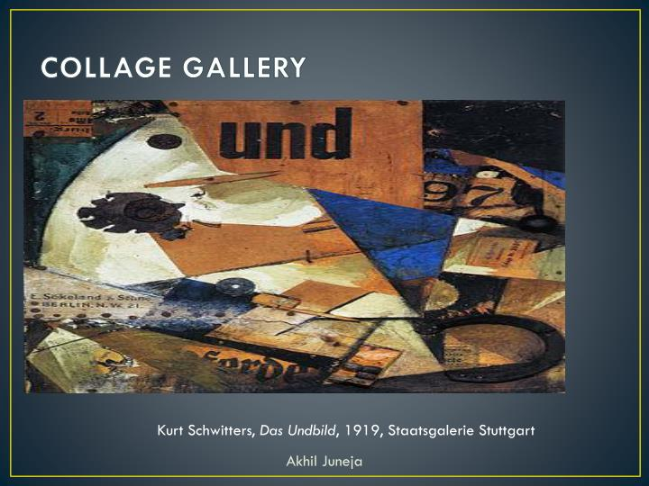 COLLAGE GALLERY