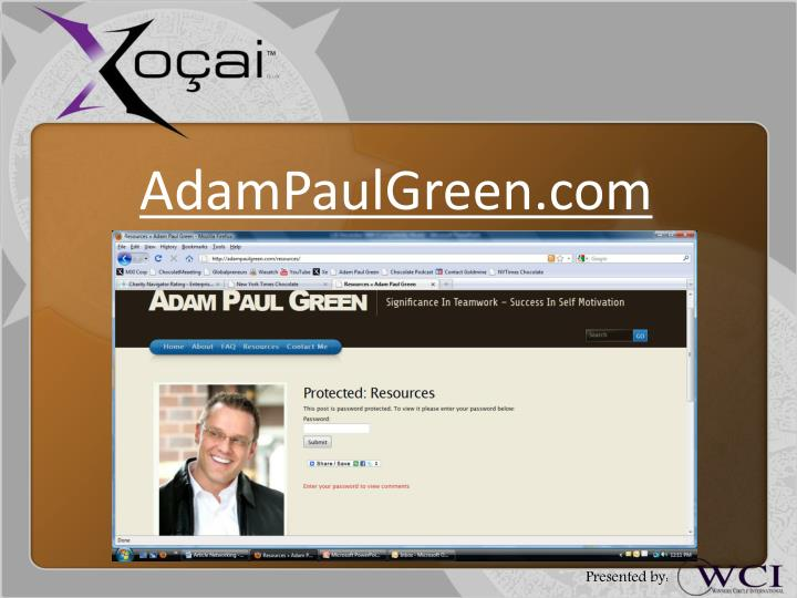 AdamPaulGreen.com