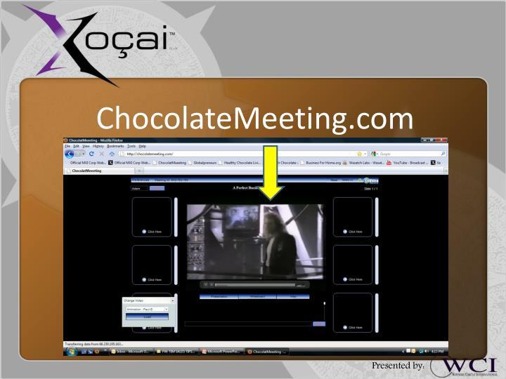 ChocolateMeeting.com