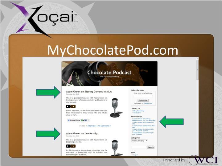 MyChocolatePod.com