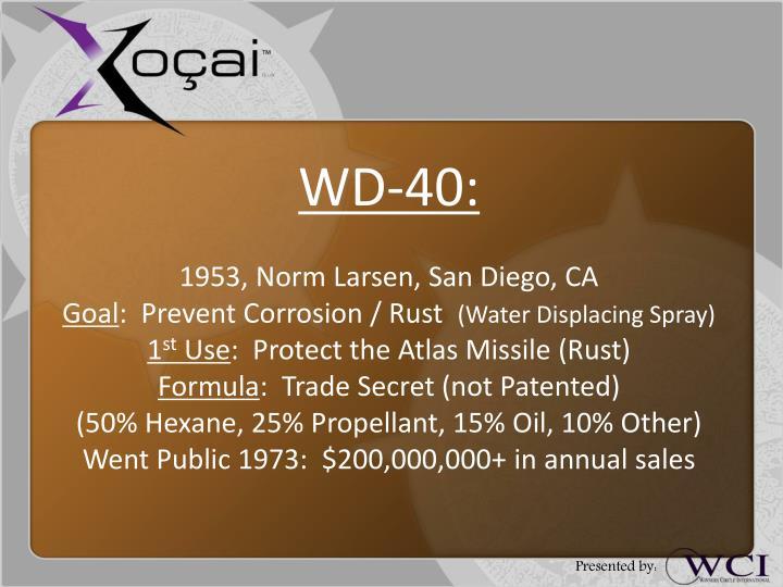 WD-40:
