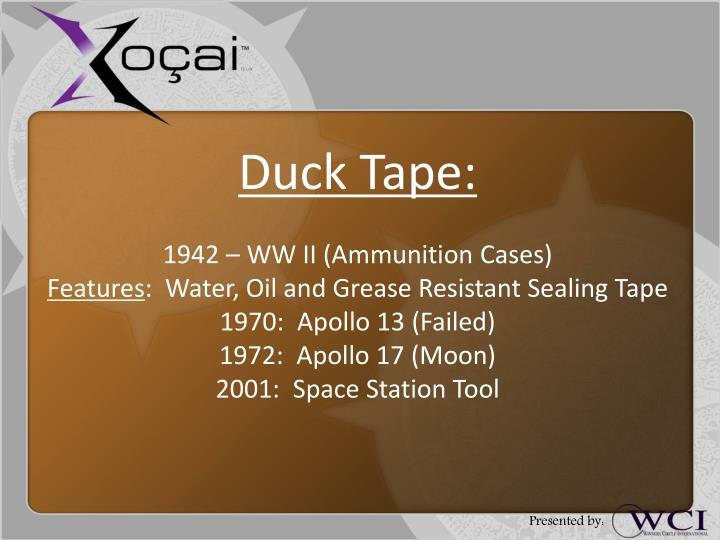 Duck Tape: