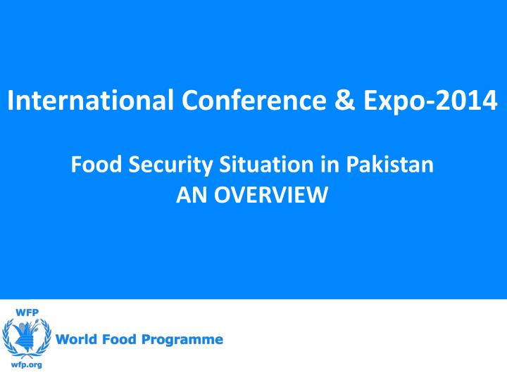 International Conference & Expo-2014