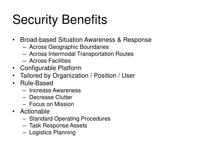Security Benefits