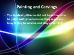 painting and carvings