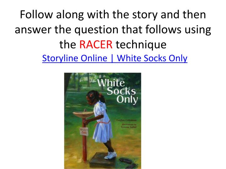 Follow along with the story and then answer the question that follows using the