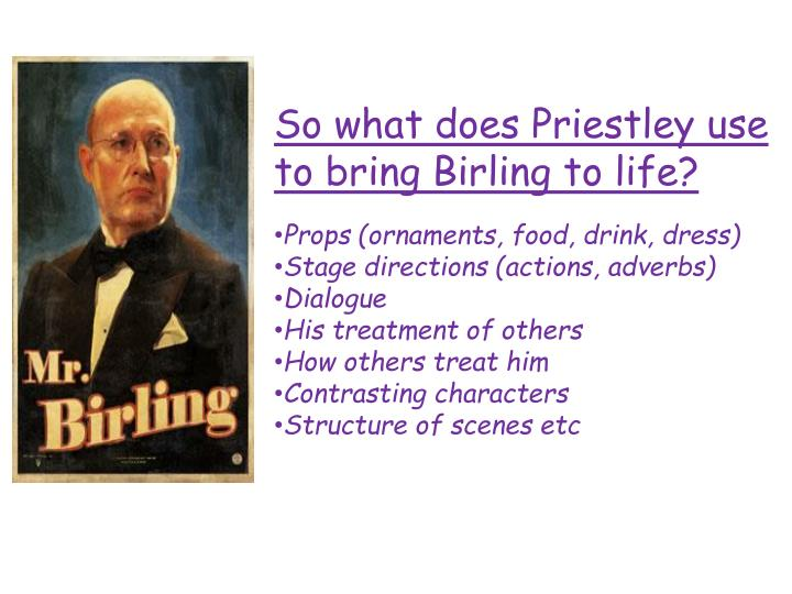 So what does Priestley use