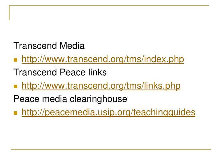 Transcend Media