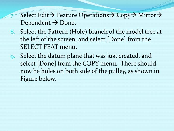 Select Edit