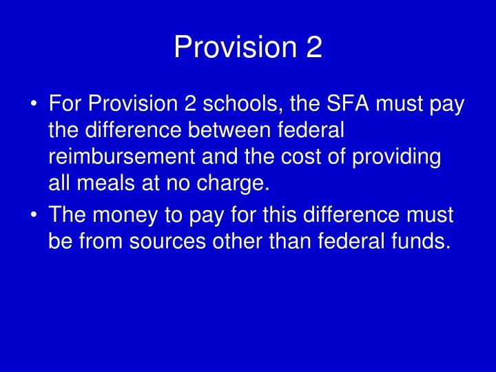 Provision 2