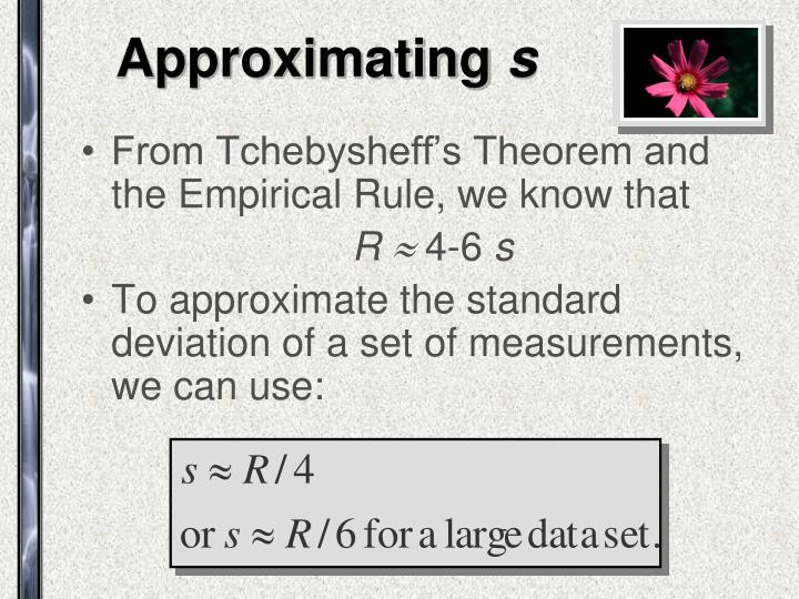 Approximating