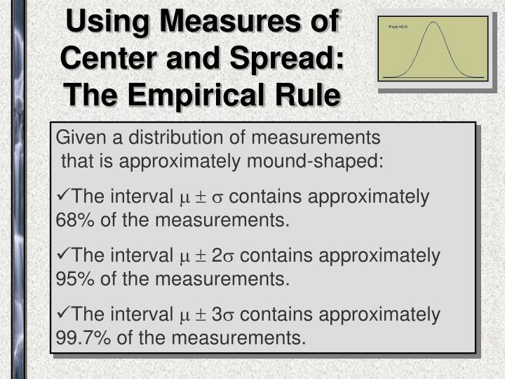 Using Measures of