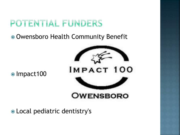 Potential Funders