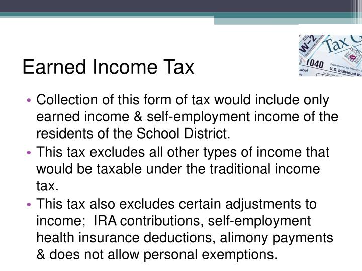 Earned Income Tax
