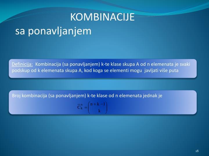 KOMBINACIJE