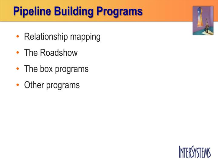 Pipeline Building Programs