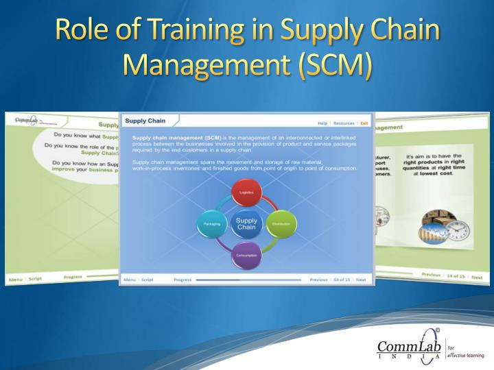 Role of Training in Supply Chain Management (SCM)