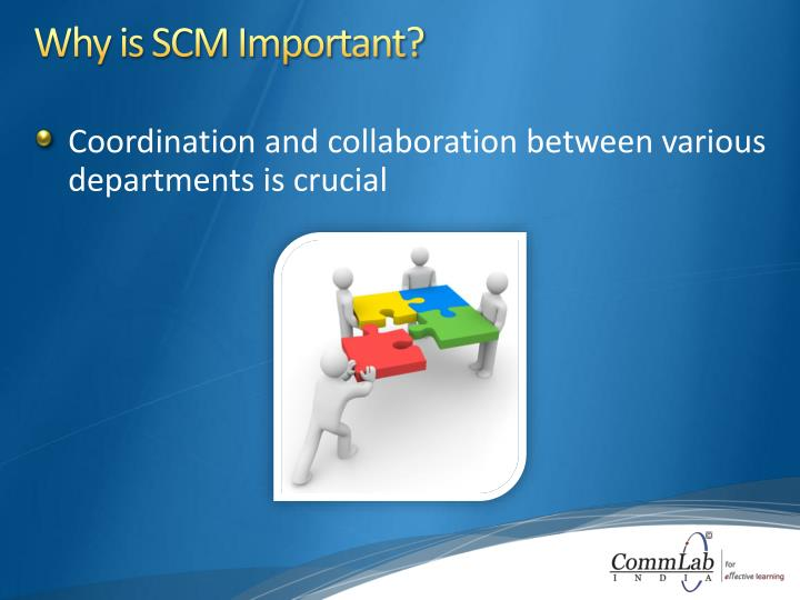 Why is SCM Important?