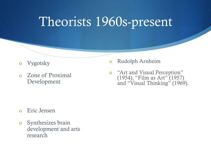 Theorists 1960s-present