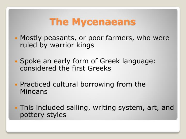 Mostly peasants, or poor farmers, who were ruled by warrior kings