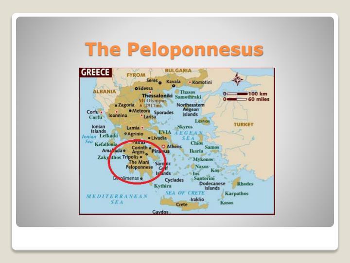 The Peloponnesus