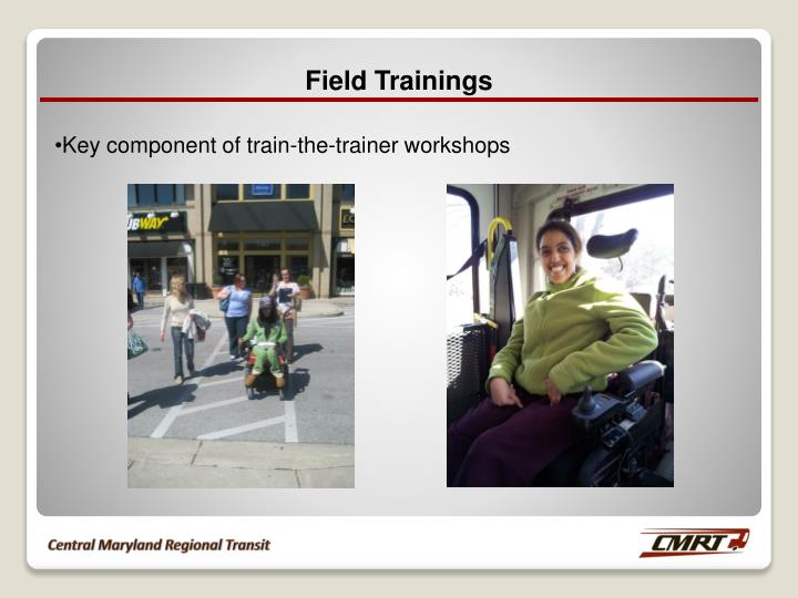 Field Trainings