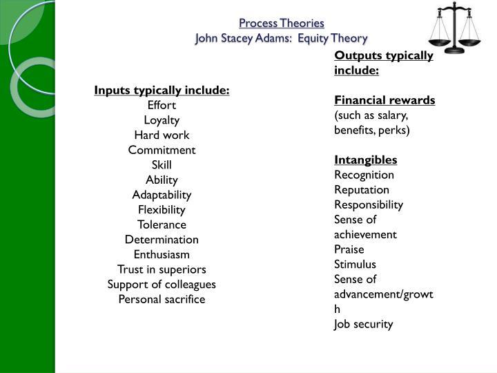 Process Theories
